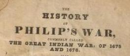 History of Philip's war, commonly called the great Indian war, of 1675 and 1676 – ebook