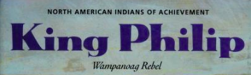 King Philip, Wampanoag rebel – ebook